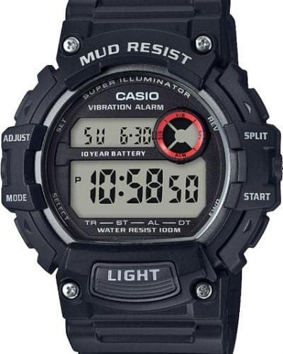 Часы водонепроницаемые с подсветкой спортивные Casio
