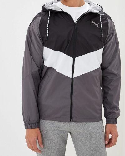 Куртка серая осенний Puma