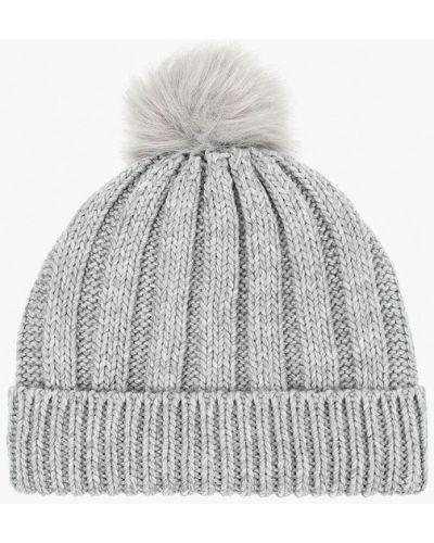 Серая шапка осенняя Jennyfer