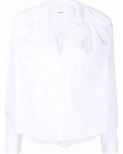 Белая блузка длинная Ba&sh