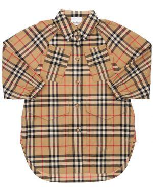 Ажурное платье-рубашка Burberry