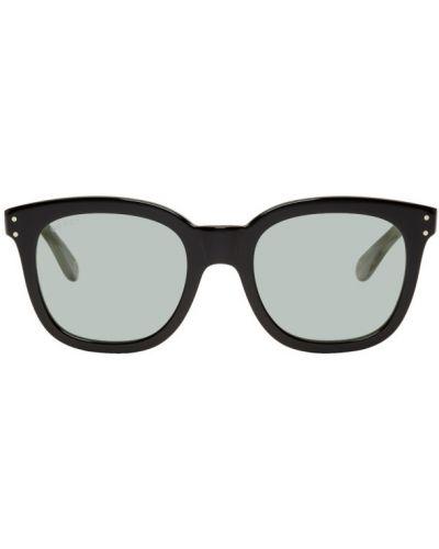 Okulary przeciwsłoneczne zielony czarny Gucci