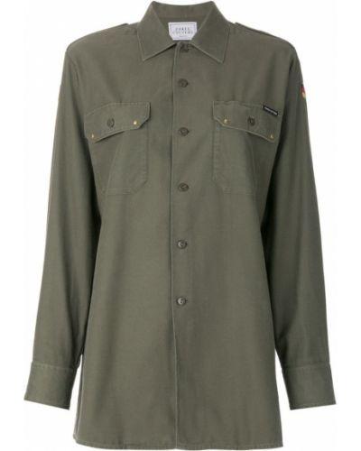 Классическая рубашка с вышивкой с длинным рукавом Forte Couture