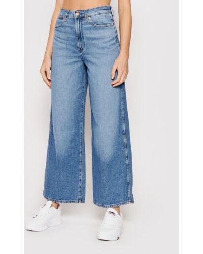 Niebieskie mom jeans Wrangler