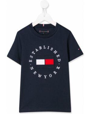 Рубашка в полоску на шею Tommy Hilfiger Junior