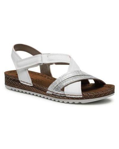Białe sandały Inblu