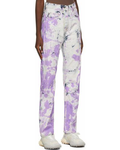 Джинсовые прямые джинсы - белые Msgm