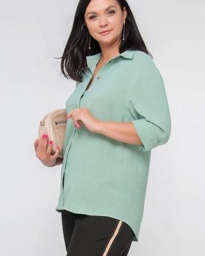 Блузка - зеленая Лимонти