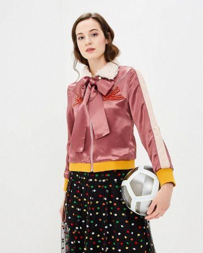 Розовая куртка облегченная Sister Jane