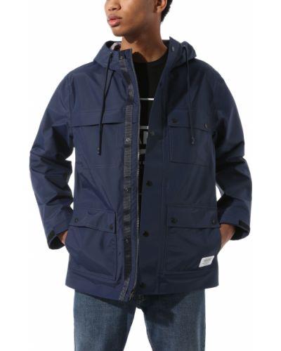 Синяя куртка Vans
