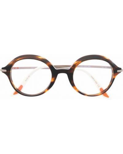 Brązowe okulary srebrne Christian Roth