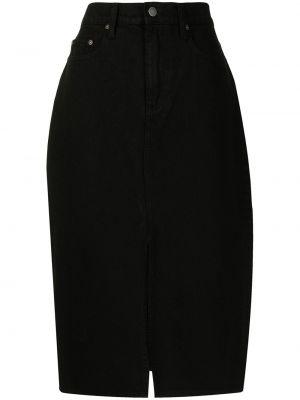 Джинсовая юбка - черная Nobody Denim