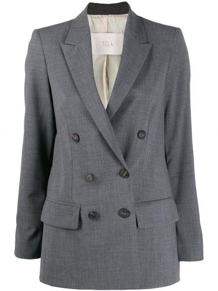 Удлиненный пиджак Tela