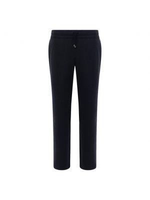 Синие шерстяные брюки Capobianco