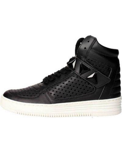 Czarne sneakersy Cult