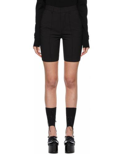 Черные шорты с карманами Shushu/tong