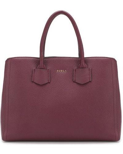 Кожаная сумка через плечо сумка-планшет Furla