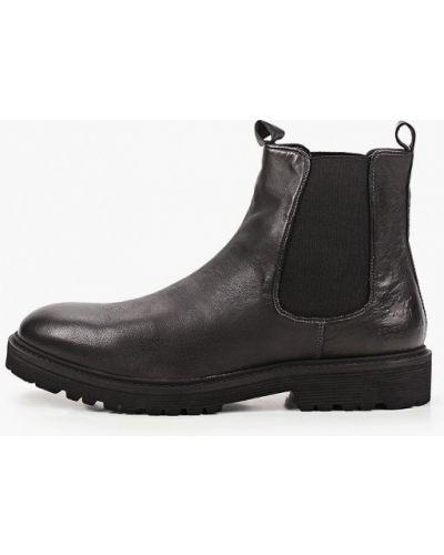 Кожаные черные ботинки челси Beverly Hills Polo Club