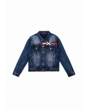 Куртка джинсовая синий Playtoday