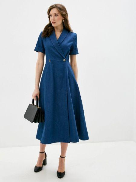 Джинсовое платье синее весеннее селфиdress