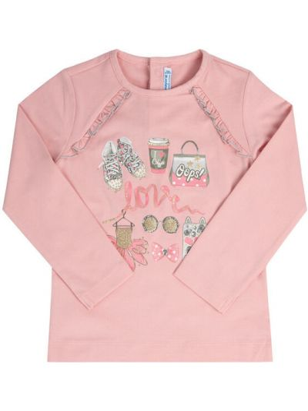 Bluzka - różowa Mayoral