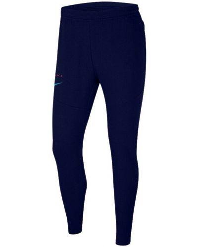 Niebieskie joggery Nike