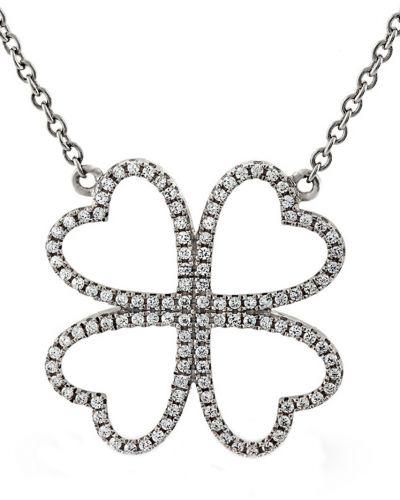 Цепочка из серебра с бриллиантом Montebello