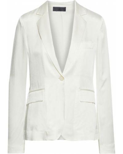 Белый пиджак с карманами на пуговицах Nili Lotan