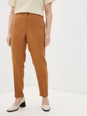 Прямые коричневые брюки Electrastyle