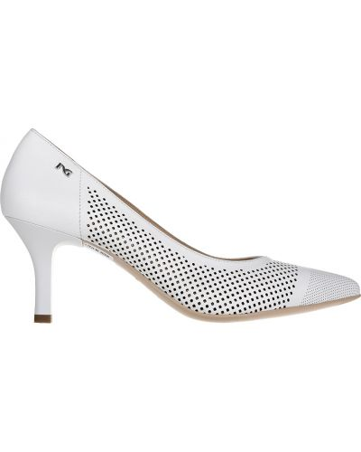 Кожаные туфли - белые Nero Giardini