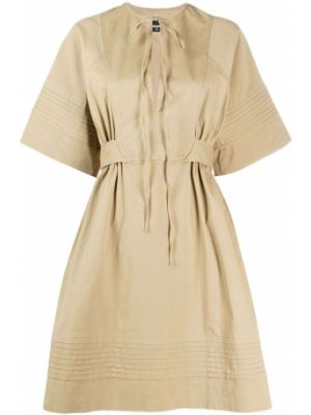 Платье со вставками с рукавами Dsquared2