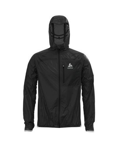 Зауженная черная куртка на молнии Odlo