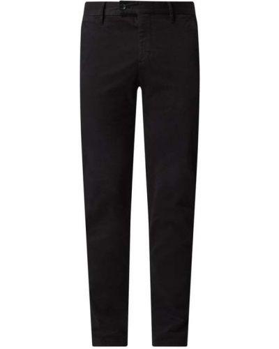Czarne spodnie bawełniane Strellson
