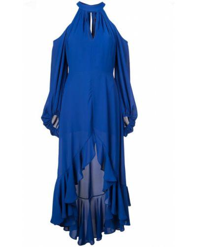 Приталенное платье прозрачное Nha Khanh