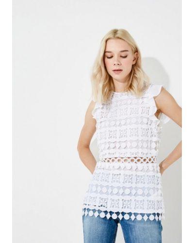Белая блузка с коротким рукавом Michael Michael Kors