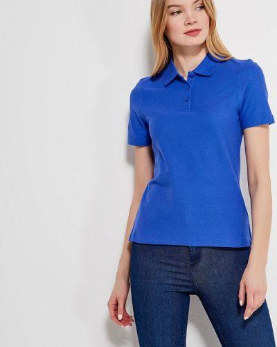Синее поло Marks & Spencer
