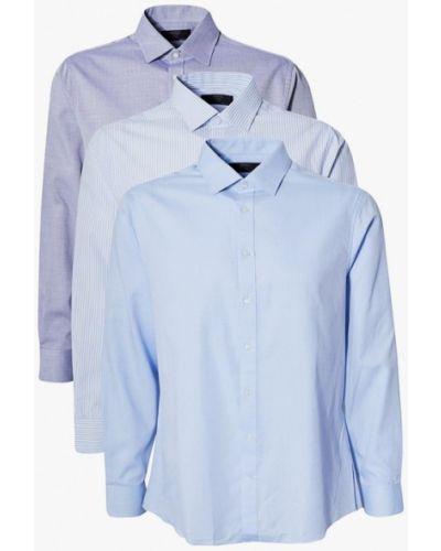 Фиолетовая рубашка с длинными рукавами Marks & Spencer