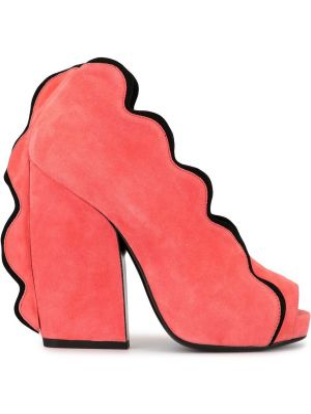 Туфли на каблуке с открытым носком Pierre Hardy