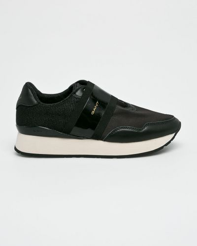 Черные кроссовки текстильные Gant
