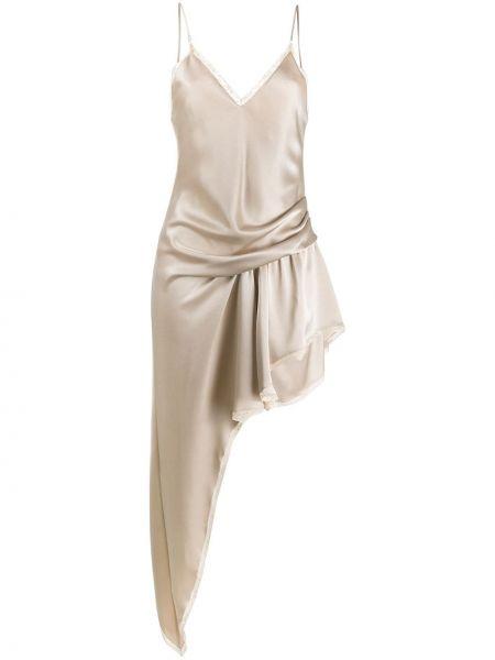 Платье платье-комбинация с вырезом Alexander Wang