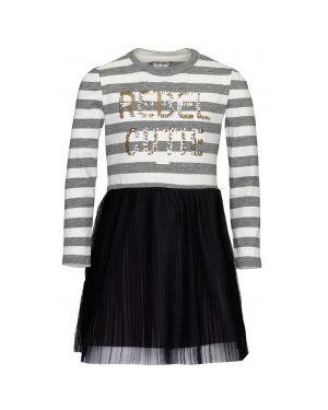 Платье макси с вышивкой в полоску Gulliver Wear