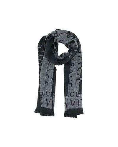 Серый шарф Versace