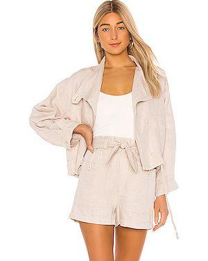 Куртка на пуговицах с карманами Joie