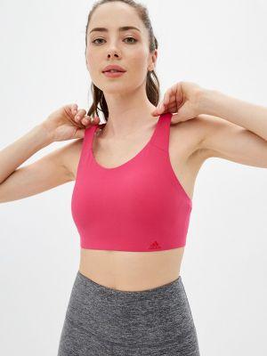 Спортивный топ - розовый Adidas