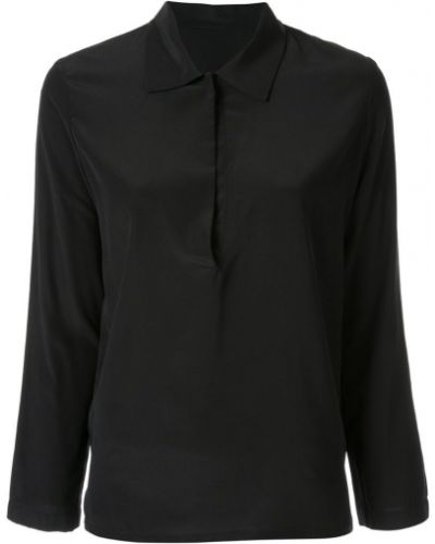 Классическая черная классическая рубашка Zambesi