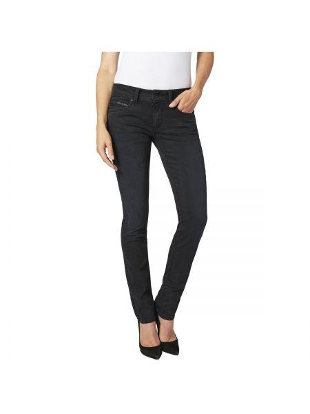 Джинсы-скинни слим фит с поясом Pepe Jeans