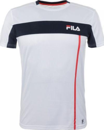 Спортивная футболка из полиэстера приталенная Fila