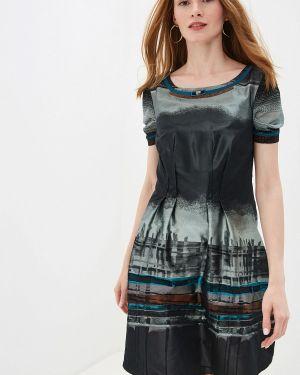 Платье прямое осеннее Alexander Bogdanov