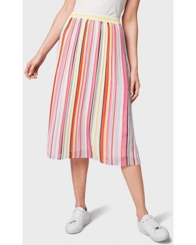 Плиссированная юбка весенняя Tom Tailor