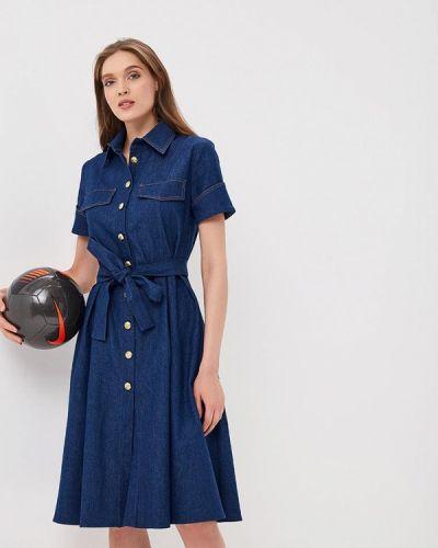 Синее джинсовое платье Sartori Dodici